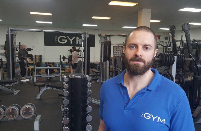 Luke Thompson personal trainer the gym tunbridge wells kent